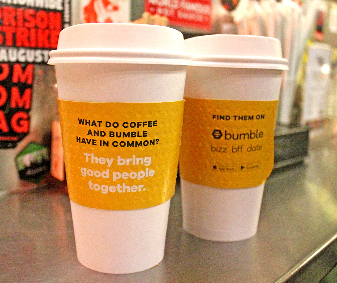 Coffee Sleeve Advertising